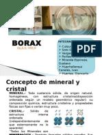 Borax Crista Van