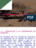 Capitulo 1 Procesamiento de Minerales