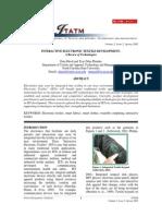 Review- Interactive Electronic Textile Development
