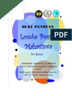 Panduan Lomba Poster SPORT UNNES 2015 Se-jawa
