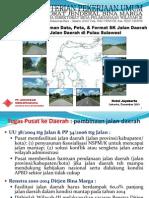 Sosialisasi Fasilitasi Jalan Daerah Sulawesi