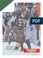 2015 Connecticut High School Football Record Book