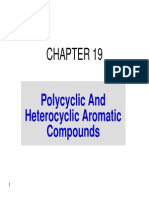 Chapter 19 - Polycyclic and Heterocyclic Aromatic Compounds
