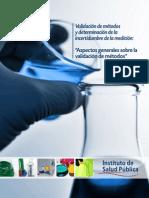 Guia Técnica 1 Validación de Métodos y Determinación de La Incertidumbre de La Medición_1-1