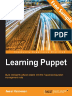 Learning Puppet - Sample Chapter