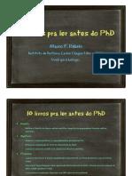 10 Livros PhD