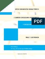 Przegląd wybranych dokumentów normatywnych z zakresu zarządzania kryzysowego i zarządzania ryzykiem wraz z leksykonem