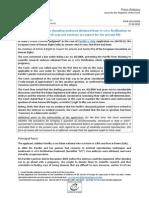 Parillo v Italy Press Release