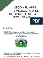 EL JUEGO Y EL ARTE