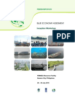 Proceedings of the Blue Economy Assessment Inception Workshop