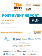 Power & Electricity World Philippines 2015 Post Event Report