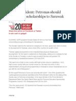 PETRONAS Scholarship