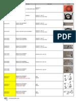 Mg Rover Catalog-SAIC parts Roewe parts cina Auto Parts