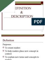 Lec 7-Definition and Description