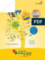 Andhra Bank Annual Report 2014 15
