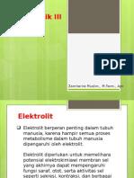 1. Elektrolit