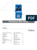 Tc Electronic Flashback Mini Delay Manual Spanish
