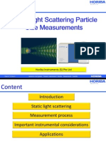 Static Light Scattering Particle Size Measurements v1