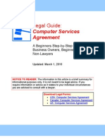 Computer Services Agreement - Legal Guide