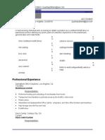 Jobswire.com Resume of QUANTAYDBLAND