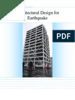 Architectual Design for Earthquakes