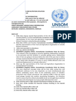 Critical Food and Nutrition Situation Persists in Somalia-un
