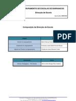 Composição da Direcção 09-10