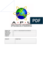 Sample of Project Documentation