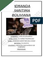 Demanda (Bolivia contra Chile)