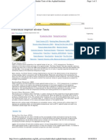 Individual Asphalt Binder Test