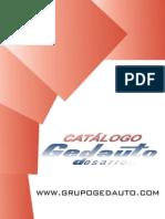 Catálogo Maquinaría Gedauto Desarrollo - 03/2010 Carros