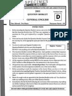FDA General English