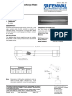 Discharge Flexible Hose 3in f 93 9045 Print
