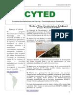 Boletín Cyted Nº24 2015 Web