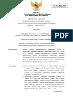 Permenpan2015_012 Pedoman Evaluasi SAKIP
