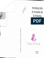 Introducion Al Estudio de La Historia