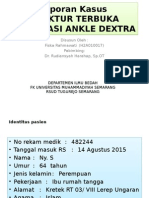 Dislokasi Ankle