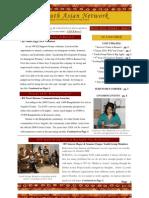 SAN Newsletter Winter 2010