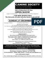 Otle Dec 15 Schedule