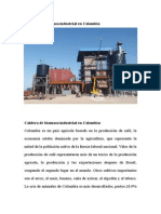 Caldera de Biomasa Industrial en Colombia