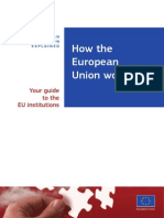 How the European Union Works En