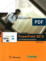 Power Point 2013 en PDF