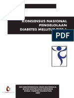 Konsensus Nasional Pengelolaan DM Tipe 1 IDAI
