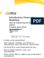Introductory Financial Modeling
