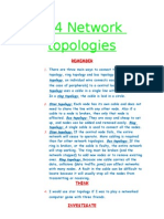 6.4 Network Topologies