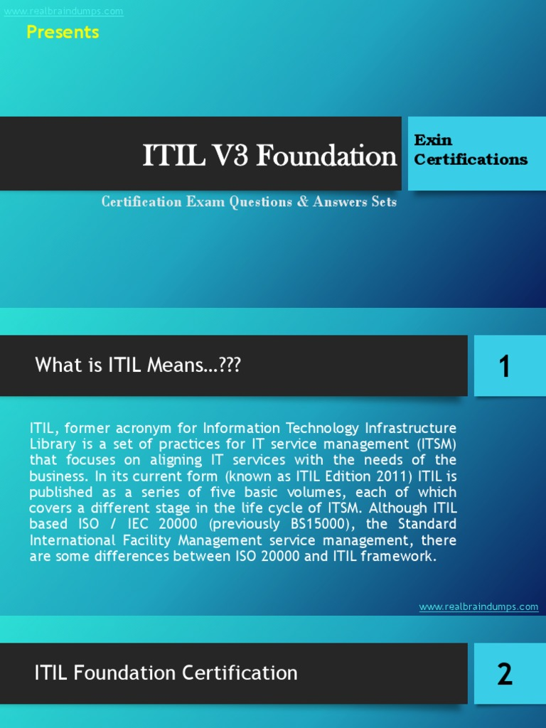 Itil v3 foundation exam questions answers set itil it service itil v3 foundation exam questions answers set itil it service management fandeluxe Choice Image