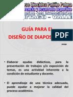 GUIA PRESENTACION DIAPOSITIVAS..