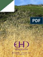 EHD magazine NÚMERO 12 -SEPTIEMBRE Y OCTUBRE 2015