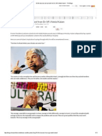 10 Life Lessons We Learned From Dr APJ Abdul Kalam