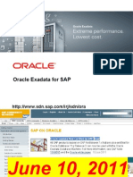 Exadata4sap Customerwebcast 2011-08-30